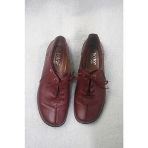 Hotter Red Casual Shoe 9
